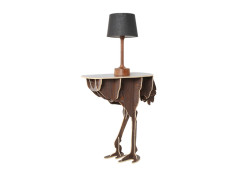 Diva Ostrich Table (Replica) (8)