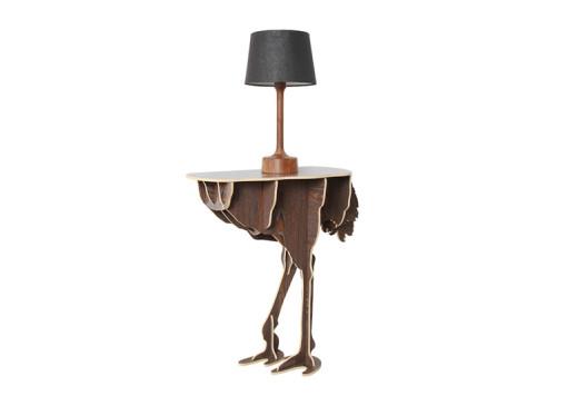 Diva Ostrich Table (Replica) (8)