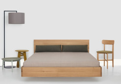 Lisandro Wooden Bed Frame2