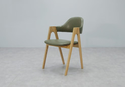 Prisma Chair_Olive PU_1
