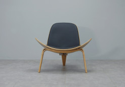 Shell Chair Replica_Black_3