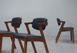 Spade Chair_Black PU_4
