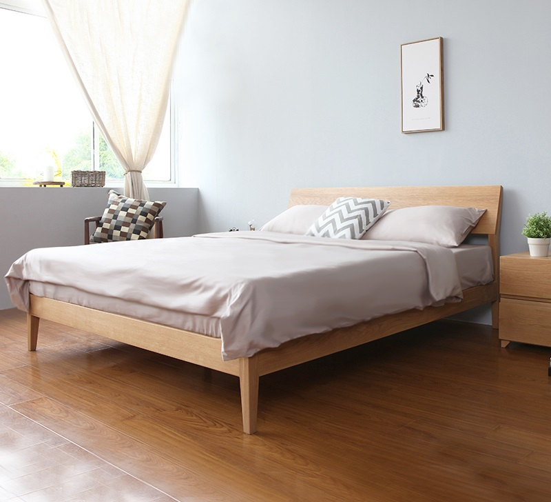 Wooden bed frame antoine wooden bed frame American home furniture bed frames