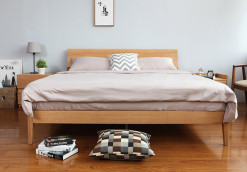 Antoine Wood Bed Frame Singapore