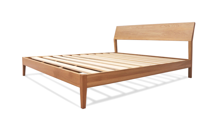 Swell Antoine Wood Bed Frame Solid Oak Wood Home Interior And Landscaping Mentranervesignezvosmurscom
