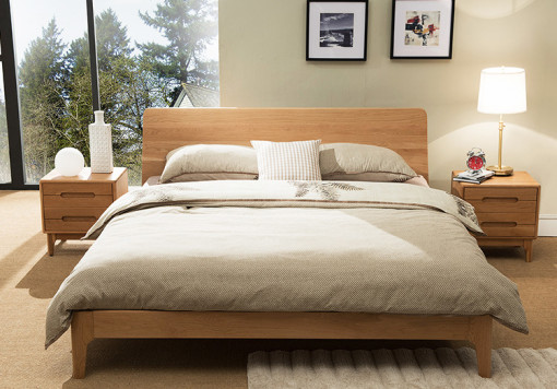 Wood Bed Frame Singapore Beaumont (5)