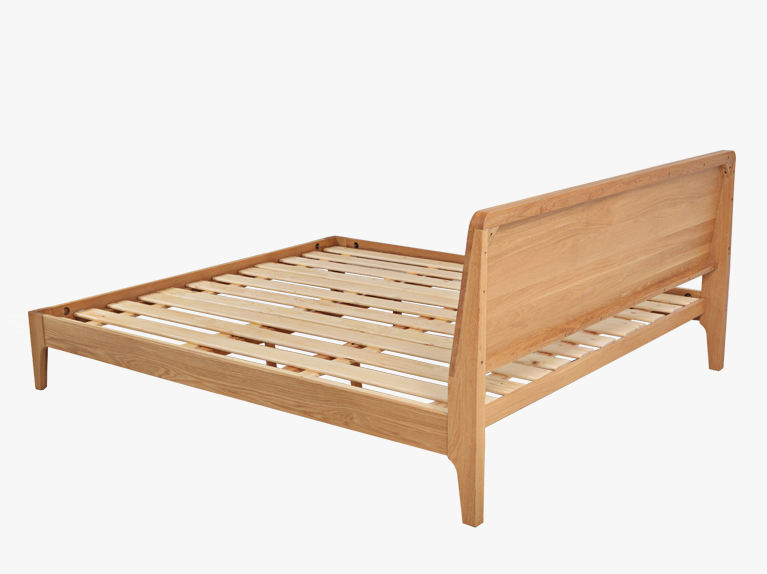 Wooden bed frame beaumont wooden bed frame for Q furniture and mattress beaumont tx