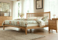 Wood Bed Frame Singapore Thames Oak (1)