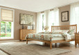 Wood Bed Frame Singapore Thames Oak (2)
