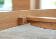 Wood Bed Frame Singapore Thames Oak (4)