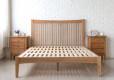 thames wood bed frame solid oak wood