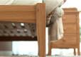 Wood Bed Frame Singapore Thames Oak (7)