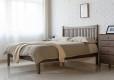 Wood Bed Frame Singapore Thames Walnut (1)