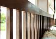 Wood Bed Frame Singapore Thames Walnut (2)