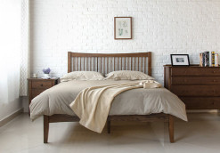 Thames wood bed frame