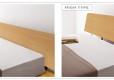 Wood Bed Frame Singapore_Platform Bed Amaya (3)