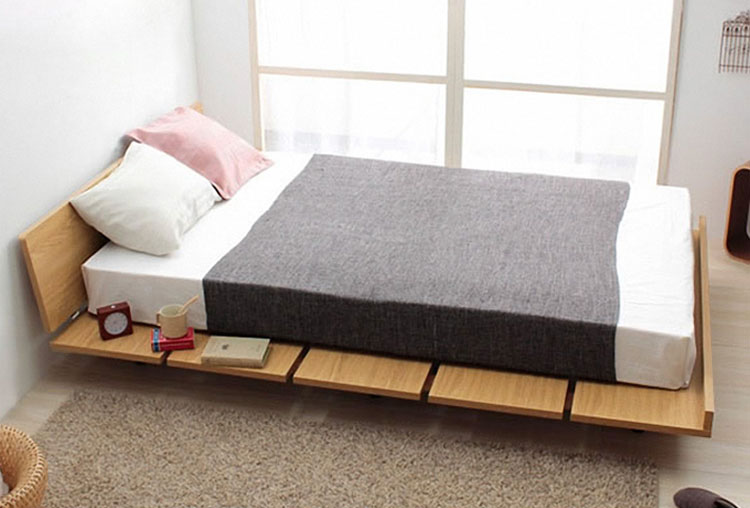 Wood Furniture Singapore Japanese Platform Bed