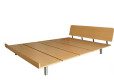 Wood Bed Frame Singapore_Platform Bed Amaya (5)